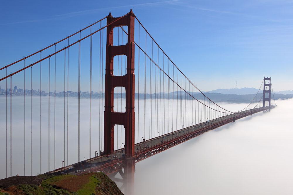 高清桥梁风景图片